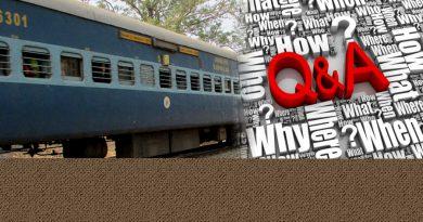 Rail Question & Answer