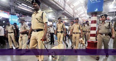 Rail RPF inspector