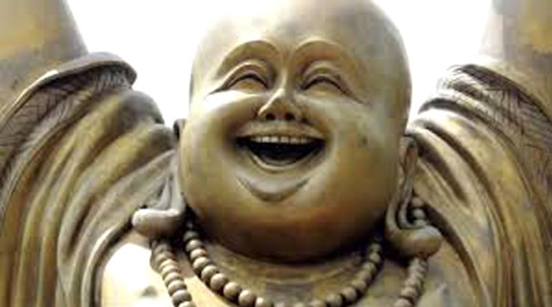 smiling budha Picture