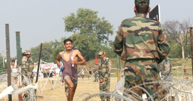 Army Job, Army Rally Recruitment,